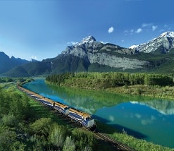 Two Day Rocky Mountaineer Train Journey Canadian Rockies Trains