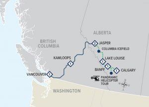 Explorer Route Map