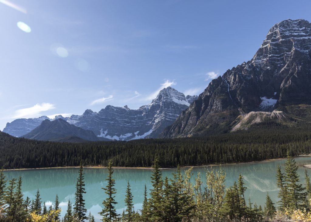 Scenery in the Canadian Rockies
